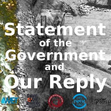 Statement of the Tyrolean Government – and our reply
