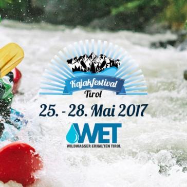 Noch 3 Wochen bis zum Kajakfestival Tirol 2017