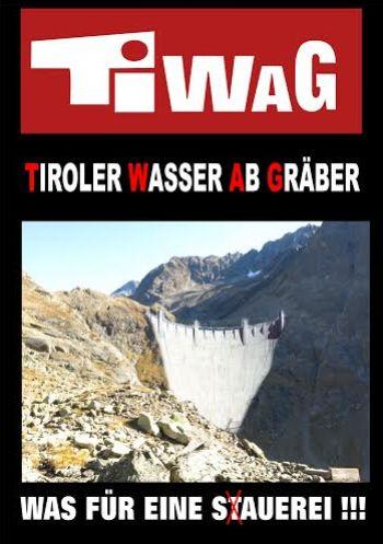 Postkartenaktion TIWAG – Tiroler Wasser Abgräber