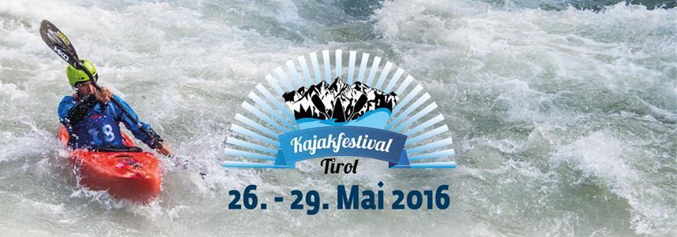 Kajakfestival Tirol 2016 – der Countdown läuft!
