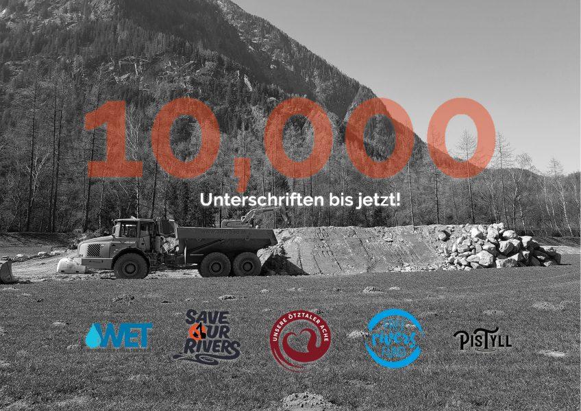 Schon 10.000 Unterschriften bisher – Danke!