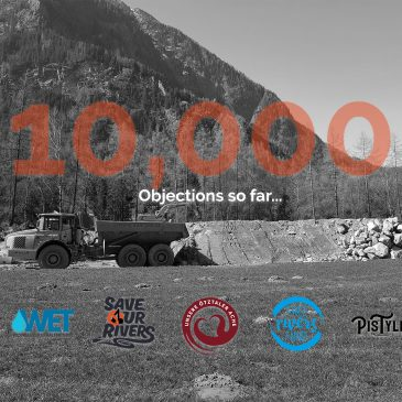 10,000 objections so far – Thank you!
